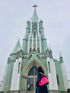 教会への写真・画像素材[1196308]