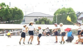 運動会の写真・画像素材[3271277]