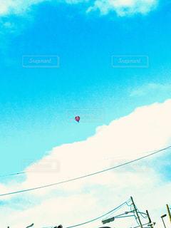 気球発見の写真・画像素材[2242066]