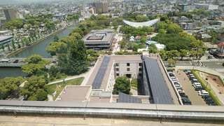 展望ホールからの眺めの写真・画像素材[3333875]