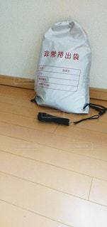 避難袋の写真・画像素材[3356397]