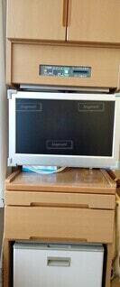 病院の一体型家具の写真・画像素材[3880087]
