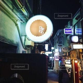 夜の店頭の写真・画像素材[3265379]