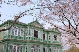 旧ハンター住宅の写真・画像素材[3446716]