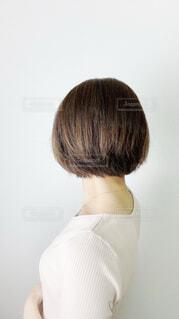 後ろ髪の写真・画像素材[3788759]