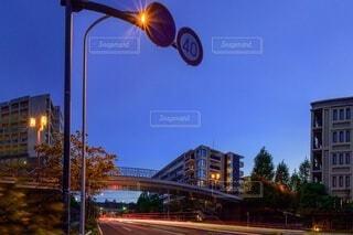 街路の信号の写真・画像素材[3677257]