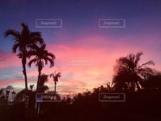 サイパン島の夕暮れの写真・画像素材[3274304]