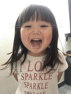 あかりちゃん3歳の写真・画像素材[3635340]