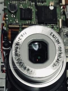 カメラのクローズアップの写真・画像素材[3279164]