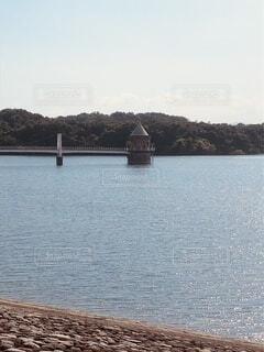 湖の上の写真・画像素材[4657832]