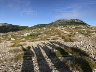 みんなで登山‼️の写真・画像素材[3285866]