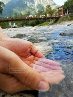 綺麗な水の写真・画像素材[3376236]
