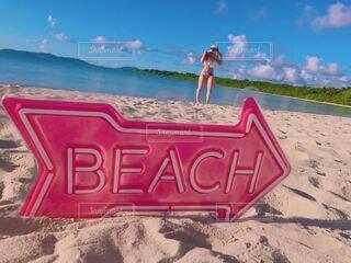 ビーチの写真・画像素材[4179641]