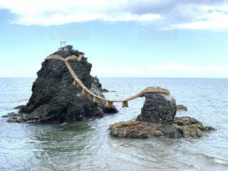 夫婦岩の写真・画像素材[3356457]