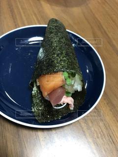 手巻き寿司の写真・画像素材[3372570]