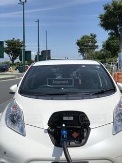 電気自動車の写真・画像素材[3340277]