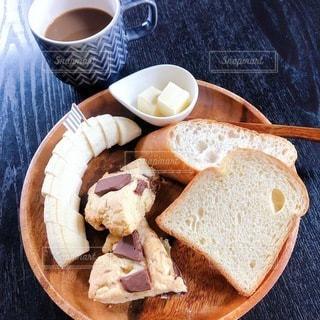 ある日の朝食の写真・画像素材[3295273]