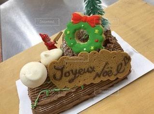 クリスマスケーキの写真・画像素材[3291183]