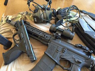 銃の写真・画像素材[137980]