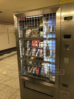 駅の自動販売機の写真・画像素材[3745958]