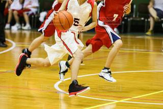 バスケットボールの写真・画像素材[3312438]
