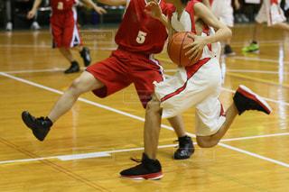 バスケットボールの写真・画像素材[3347411]