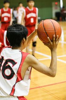 バスケットボールの写真・画像素材[3408708]