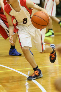 バスケットボールの写真・画像素材[3408709]