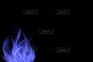 青い炎の写真・画像素材[3888279]