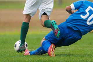 サッカーの写真・画像素材[4372371]