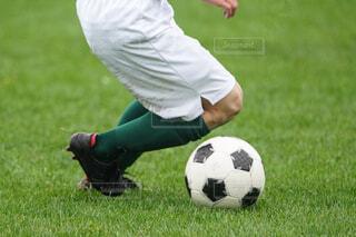 サッカーの写真・画像素材[4372376]
