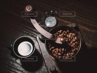 コーヒー豆の写真・画像素材[4688000]