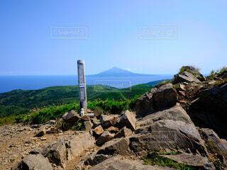 礼文岳からの風景の写真・画像素材[4768760]