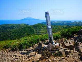 礼文岳からの風景の写真・画像素材[4768763]