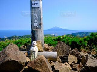 礼文岳からの風景の写真・画像素材[4768762]
