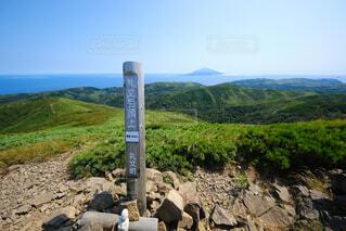 礼文岳からの風景の写真・画像素材[4768761]