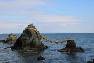 水の体の上の橋の写真・画像素材[972476]