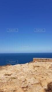 崖の向こうは大西洋の写真・画像素材[3381425]