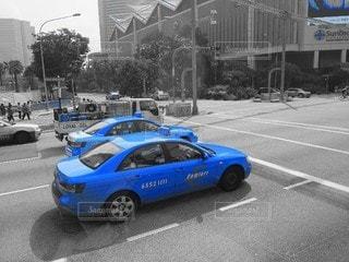 青だけの写真・画像素材[3313200]