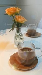 おうちでコーヒータイムの写真・画像素材[3683125]