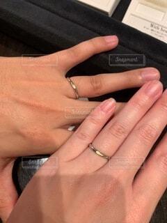 結婚指輪の写真・画像素材[3717145]