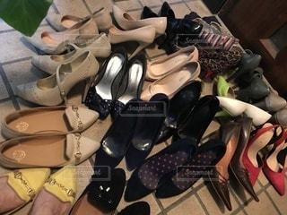 断捨離を生き残った靴達♡の写真・画像素材[3319358]