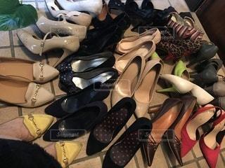 断捨離で生き残った靴達②の写真・画像素材[3319359]
