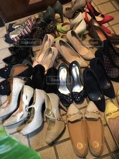 断捨離に生き残った靴達④の写真・画像素材[3319362]