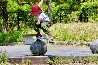 大好きスケートボードの写真・画像素材[3313918]