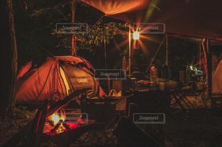 良きキャンプの写真・画像素材[3955968]
