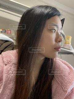 横顔の写真・画像素材[4255656]