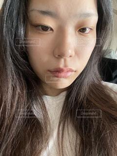 自撮りの女性の写真・画像素材[4697234]