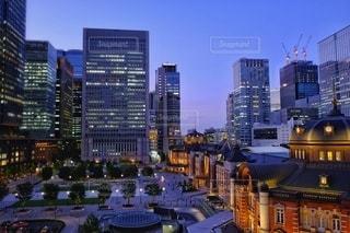 東京駅の写真・画像素材[3332454]