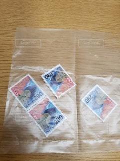 切手4枚の写真・画像素材[3324717]